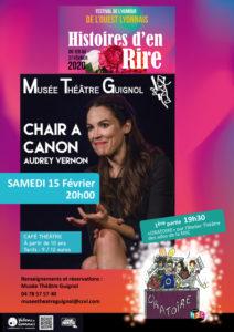 Histoires d'en Rire : Soirée Café Théâtre @ Musée Théâtre Guignol