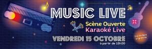 Soirée Karaoké Musique Live @ MJC de Brindas